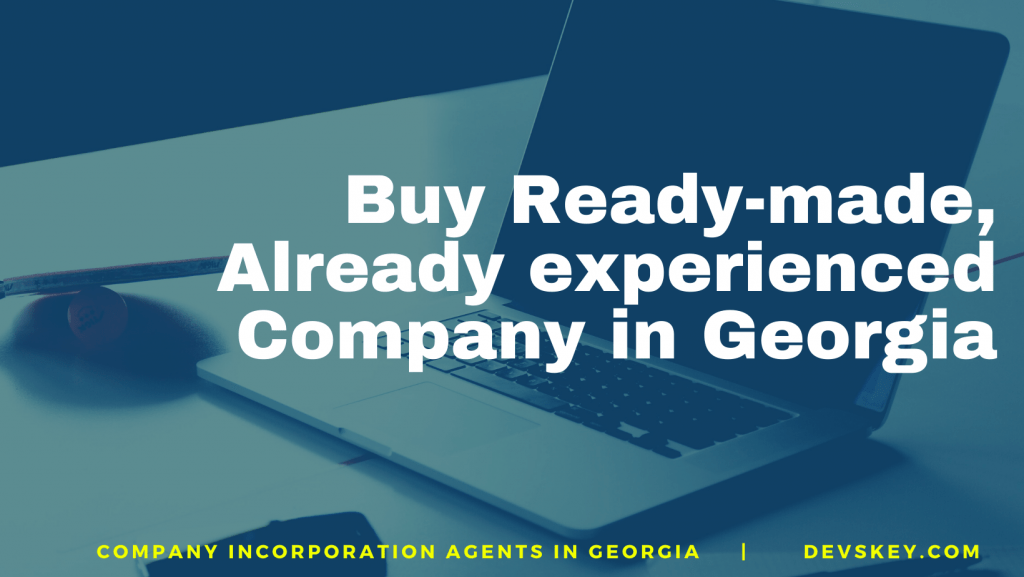 registered company for sale. Shelf Company for Sale in Georgia