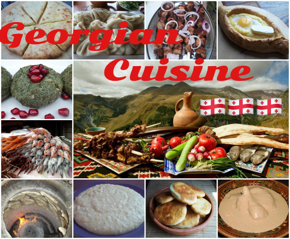 Top Georgian Food Recipes and Cuisine   Khinkali and Khachapuri