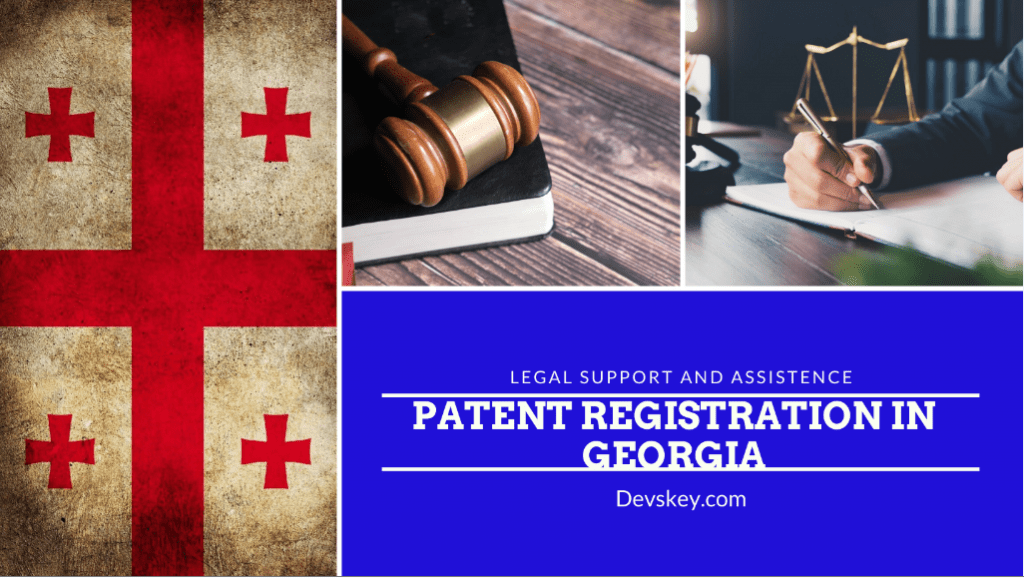 How to register patent in Georgia, country
